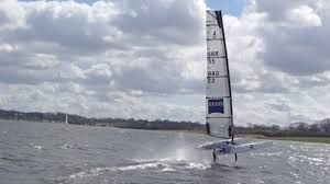 Image result for a class catamaran sail