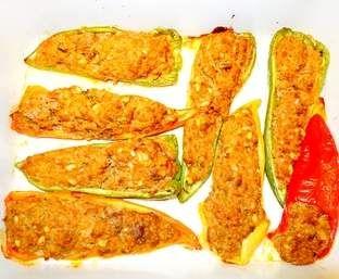 Poivron farci recette libanaise mezz recipe thermomix kitchen machine and recipes - Recette cuisine libanaise mezze ...