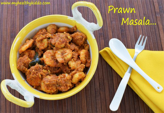 Protein-rich Prawns taste yummy when blended with Indian masala. They the marinated masala and release out tempting flavor when . A restaurant style recipe cooked in your kitchen with no magic ingredients or chemical taste makers. My mom is a seafood cooking expert as she  a seashore city. This prawn gravy is my favourite recipe …