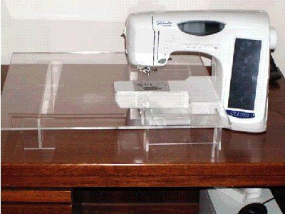 acrylic sewing machine accessory sewing table diy for 32 vs 120 rh pinterest com