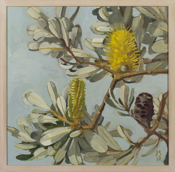 BANKSIA SKY STUDY by JUDITH SINNAMON in Stockroom atEdwina Corlette Gallery - Contemporary Art Brisbane