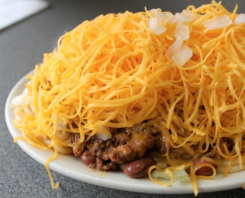 Chili - the Cincinnati Way