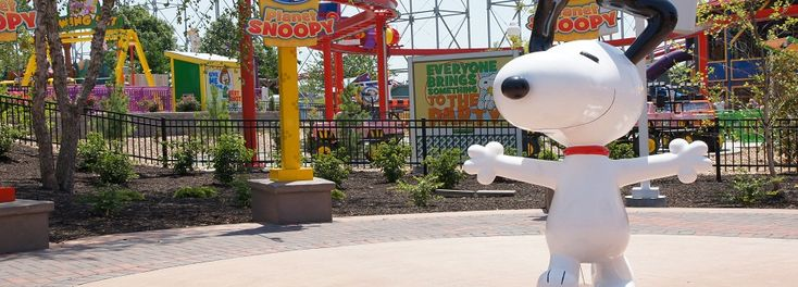 Planet snoopy at Worlds of Adventure in KS