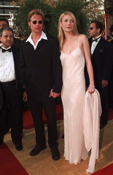 Gwyneth Paltrow with Brad Bitt