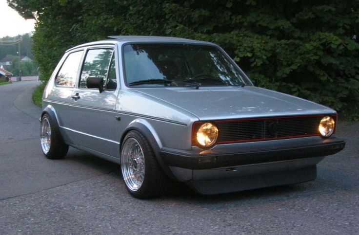 1000 Images About Retro Kit Golf Mk1 On Pinterest Golf