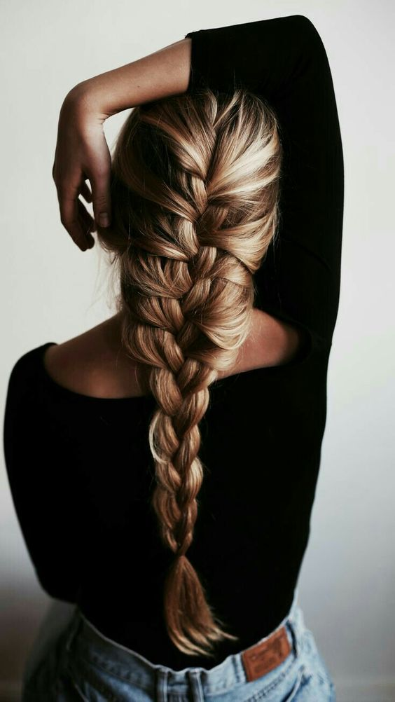 5 Different French Braids Hairstyles 2019 : Great Memorable Hairstyle for New Year.