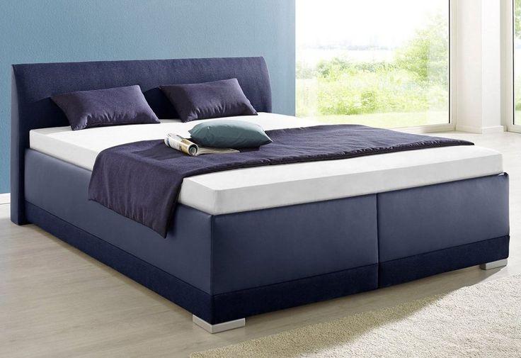 Maintal Polsterbett mit Bettkasten ab 229,99€. Mit einem Mix aus Kunstleder und Strukturstoff (100% Polyester) bezogen, Mit Bettkasten bei OTTO