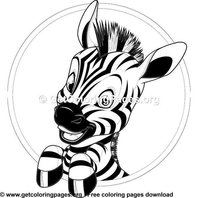 Free Coloring Pages Zebra Coloring Pages Coloring Pages Animal Coloring Pages