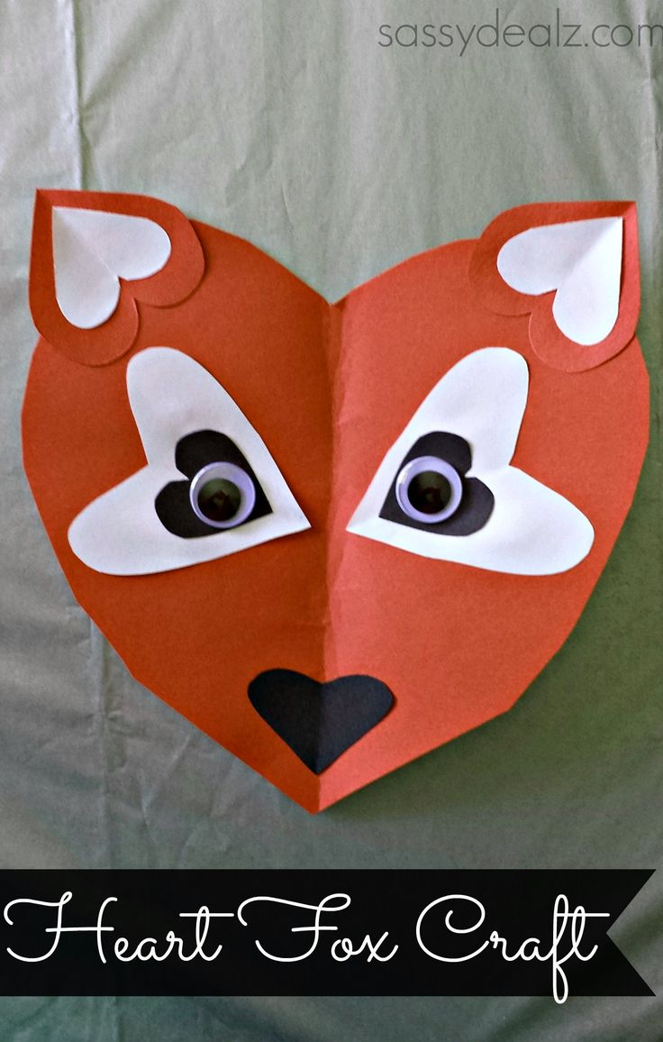 25 unique heart crafts ideas on pinterest valentine for Easy heart crafts