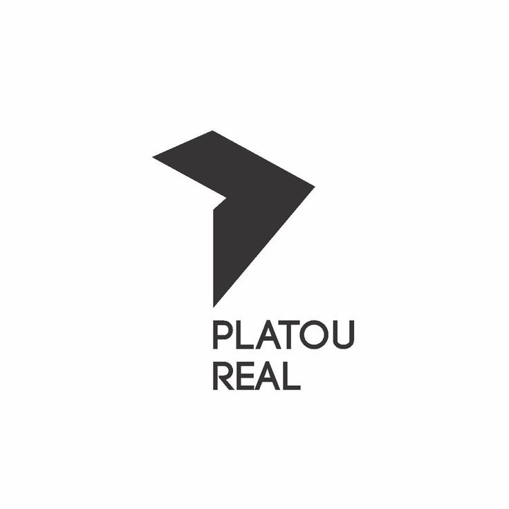 Logo design by Bull-Stark  Logo design for Platou Real. An architectural approach towards the Identity design for building this real estate brand.