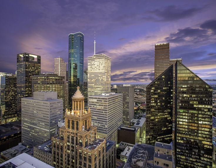 Esperson Building, Houston skyline