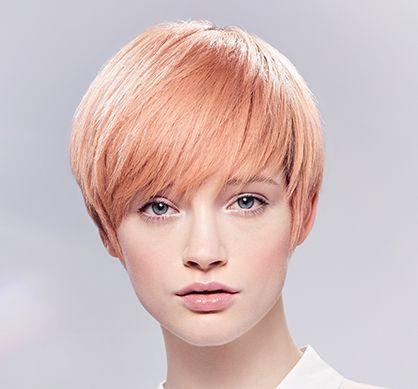 use the ratio of 1: 1. Wella Illumina Color short strawberry blonde look koleston 10/16   7/47,  10/03   8/43,  8/43   9/03