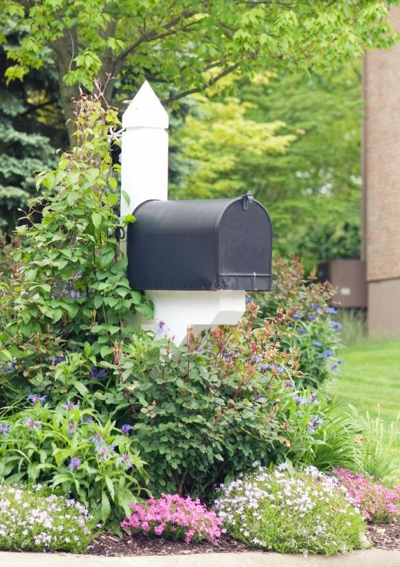 Mailboxes are literally front and center in the home landscape and deserve thoughtful design so they are more than just a utilitarian feature. Description from garden.lovetoknow.com. I searched for this on bing.com/images