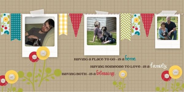 Using Stampin' Up Digital Studio to make the Banner for Facebook Page.: Timeline Project, Scrapbook