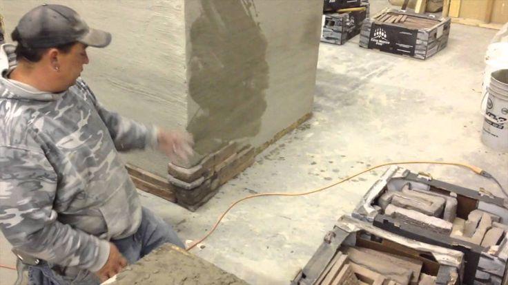 How to Install Stone Veneer - Kodiak Mountain Stone: Installation Video #howto #install #installation #stone #veneer #DIY