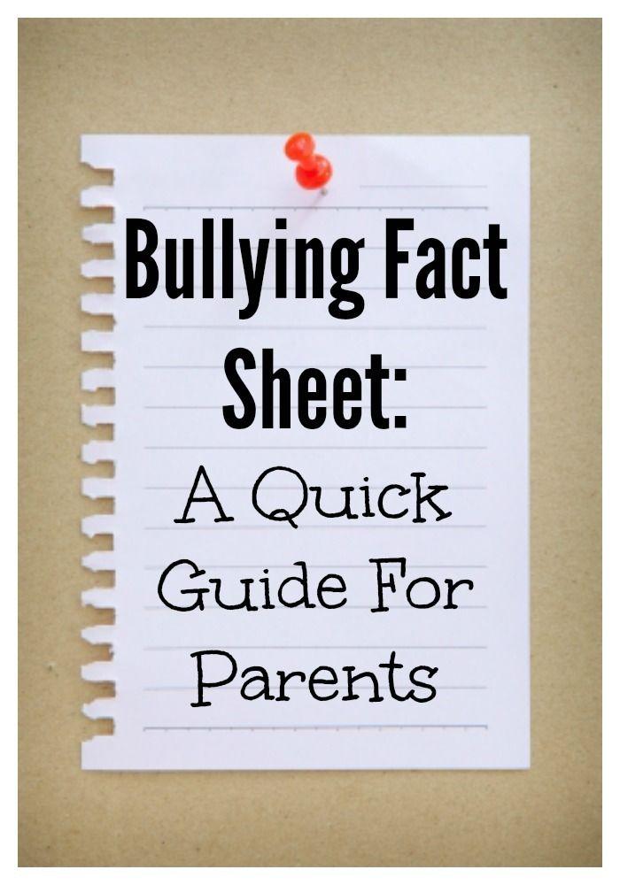 Warning signs of bullying