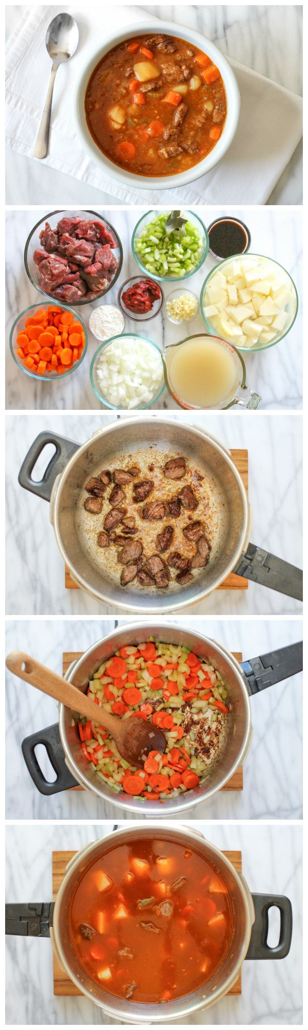 This delicious meal in <1hr? Pressure cooker, you are amazing.
