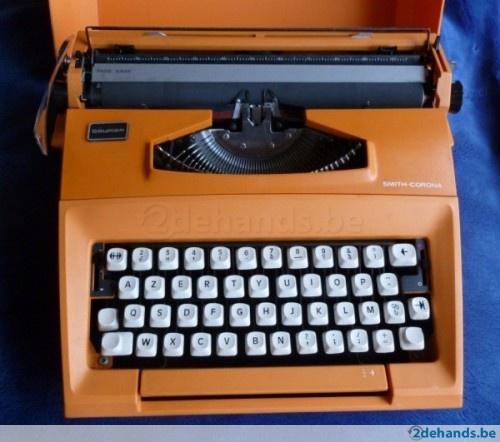 Smith Corona Courier schrijfmachine