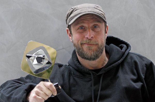 Grimme-Preis 2012: Trophäe für 'Der Tatortreiniger' mit Bjarne Mädel
