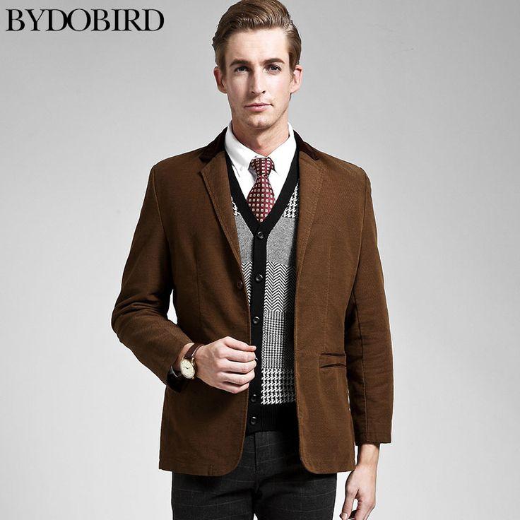 Кофе / черный / хаки британский стиль свободного покроя пиджак slim-подходят пиджак мужчины бренд костюмы для мужчин дешевые мужские пиджаки бесплатная доставка B1699