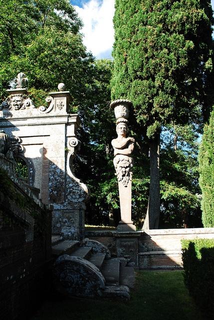Giardino diPalazzo Farnese a Caprarola, Viterbo