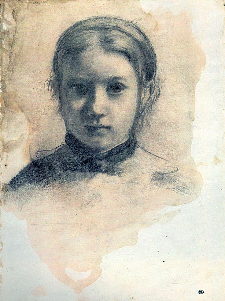 edgar degas images | Edgar Degas | drawing, Giovannina Bellelli