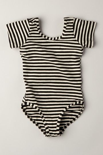 American Apparel Kids  Short Sleeve Leotard » This is really cute!!