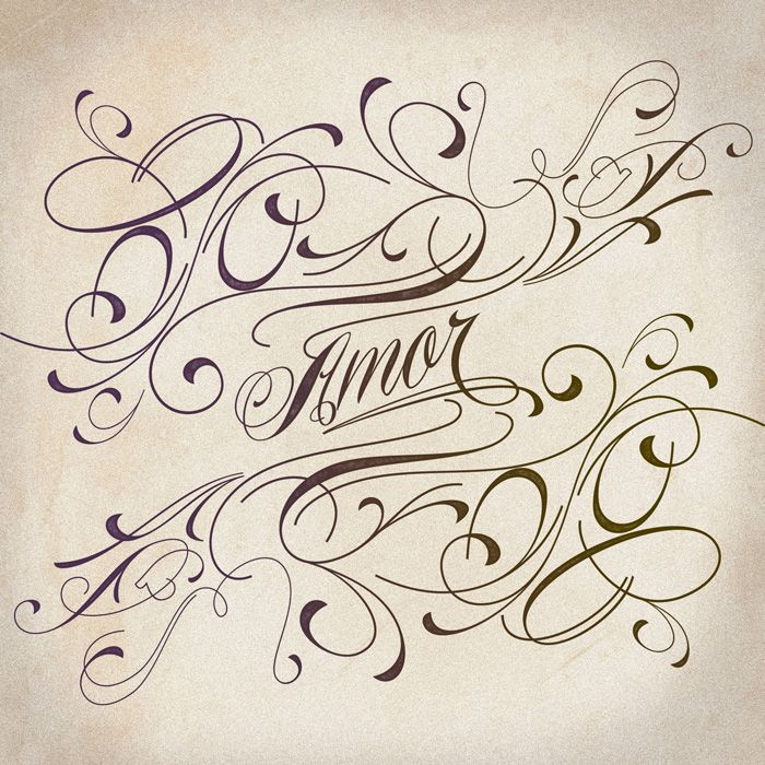Beautiful calligraphy fonts and frames