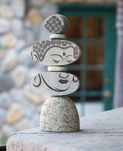 Artistic Zen Buddha Garden Statue