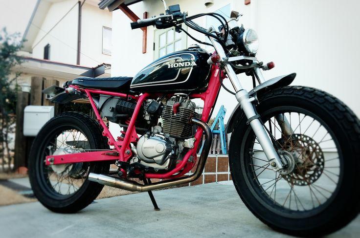 Custom Honda Ftr223改 スクランブラー バイク ホンダ