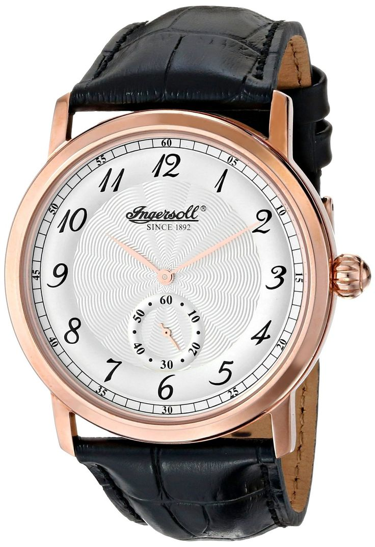 Gold men watches : Gold watches for men Ingersoll Watches