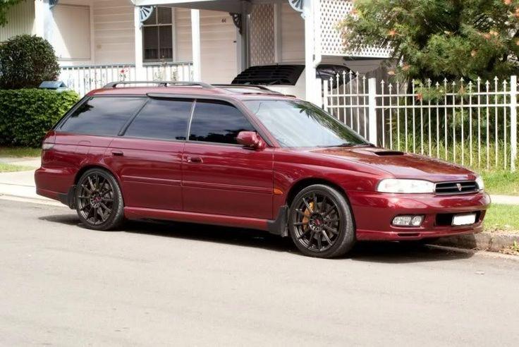 Subaru Legacy Liberty GT-B Red Australia