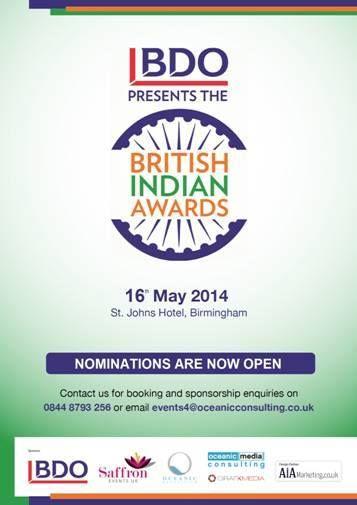 BIA awards, British Indian Awards