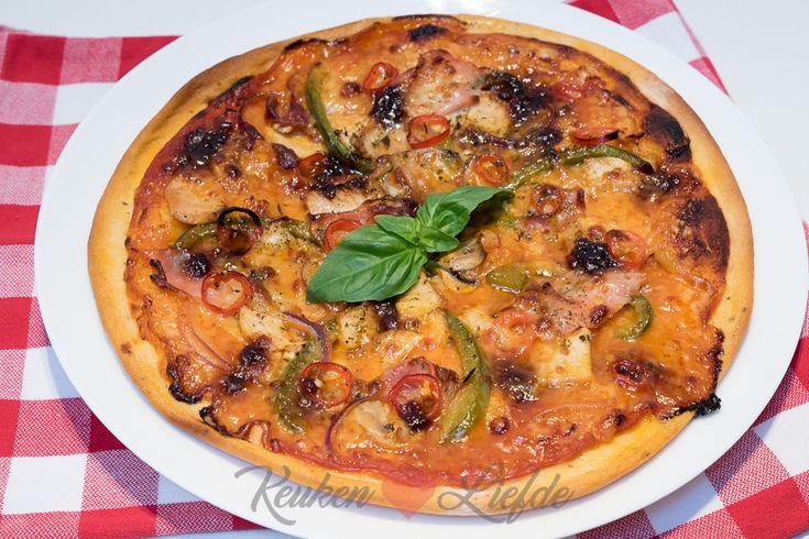 Pizza chicken supreme