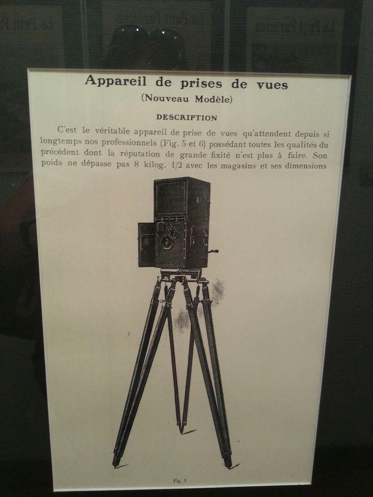 Vintage camera ad