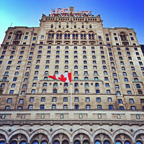 The Fairmont Royal York in Toronto, ON