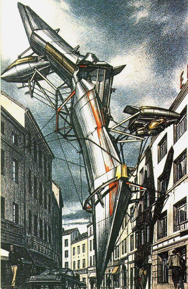 ZAGREB FREE ZONE • 1991 • by Lebbeus Woods http://lebbeuswoods.wordpress.com