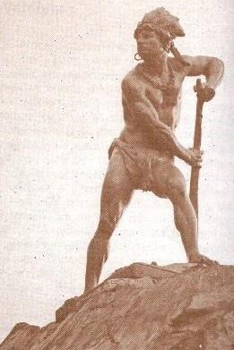 Caupolicán fue un famoso caudillo mapuche cuya figura aparece mezclada con la leyenda, ya que  no hay acuerdo entre  los historiadores sobre cuáles fueron  efectivamente  sus  cualidades  y  sus triunfos.