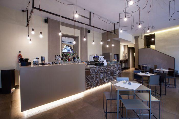 D'Italia, fine restaurant and cafè, Vercelli, Italy. Arianna Pozzuolo