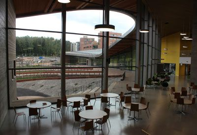 Saunalahti Comprehensive School (Espoo, Finland).