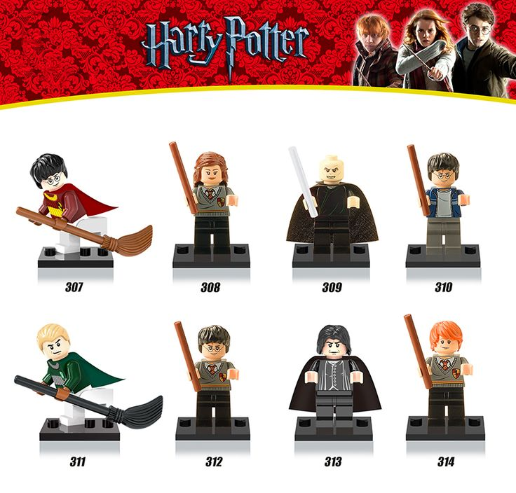 2016 New Harry Potter Half-Blood Prince Ron Lord Voldemort diy figures Sets Bricks Building Blocks Kids Toys Xmas Gift