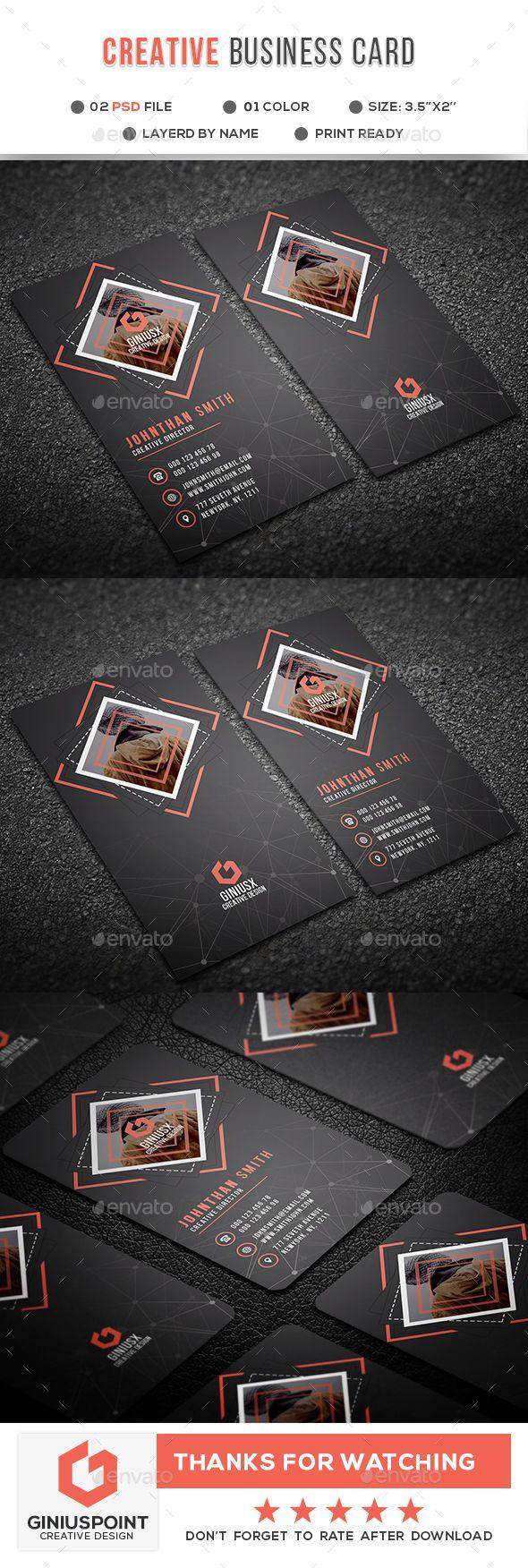 Creative #Business #Card - Creative Business Cards