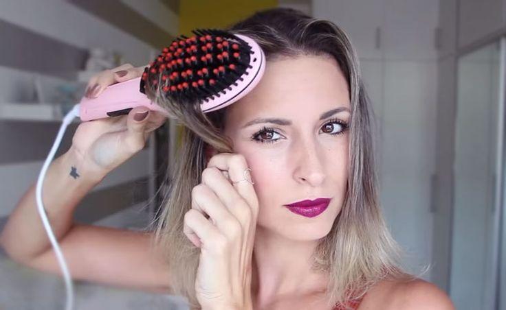 Escova alisadora: conheça suas vantagens e saiba como escolher a sua | Beauty, Hair, Headbands