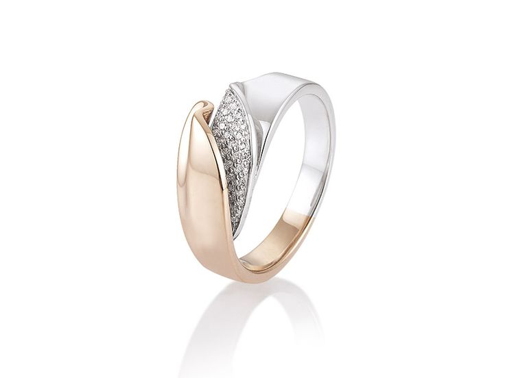 BREUNING - Sophisticated ring, diamonds with sparkling brilliance - 41055720