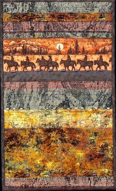 Western Theme quilt by Heidi Zielinski