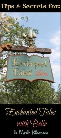 What you need to know before you visit Enchanted Tales with Belle in the Magic Kingdom!
