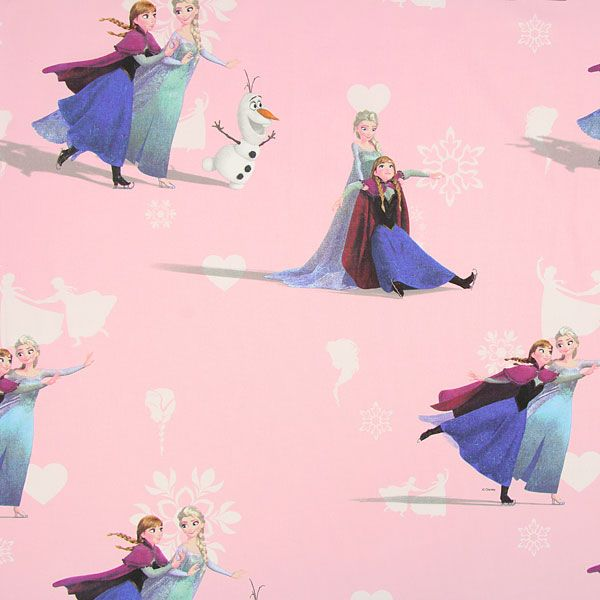 Elsa 1 - Tissus Disney- tissus.net