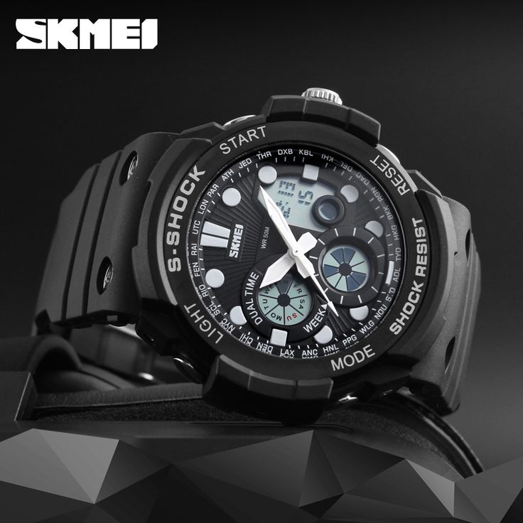 New 2017 SKMEI Brand Sport S-Shock Watches Men Quartz Digital Watch Outdoor Military Shockproof Waterproof Mens Wrist Watches