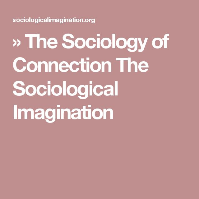 my sociological imagination Unlike most editing & proofreading services, we edit for everything: grammar, spelling, punctuation, idea flow, sentence structure, & more get started now.