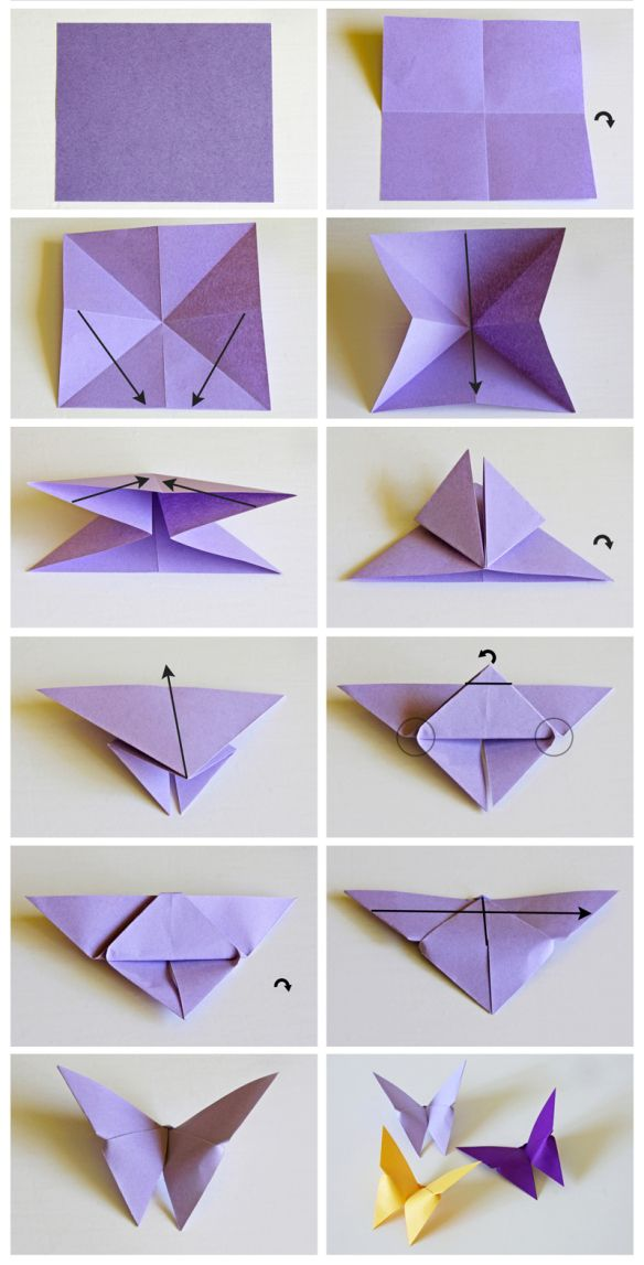 17 mejores ideas sobre mariposas de papel en pinterest - Como hacer mariposas de papel para decorar paredes ...